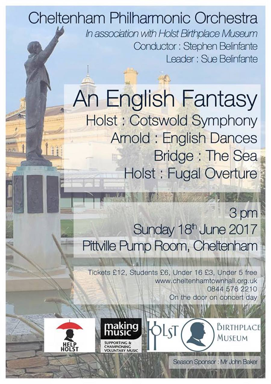 An English Fantasy – a summer concert featuring the music of Holst