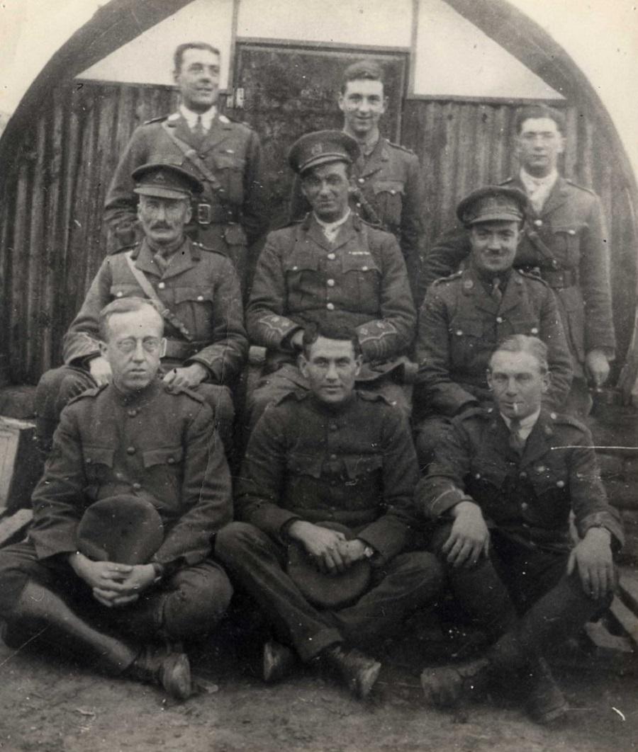 Holst in WW1