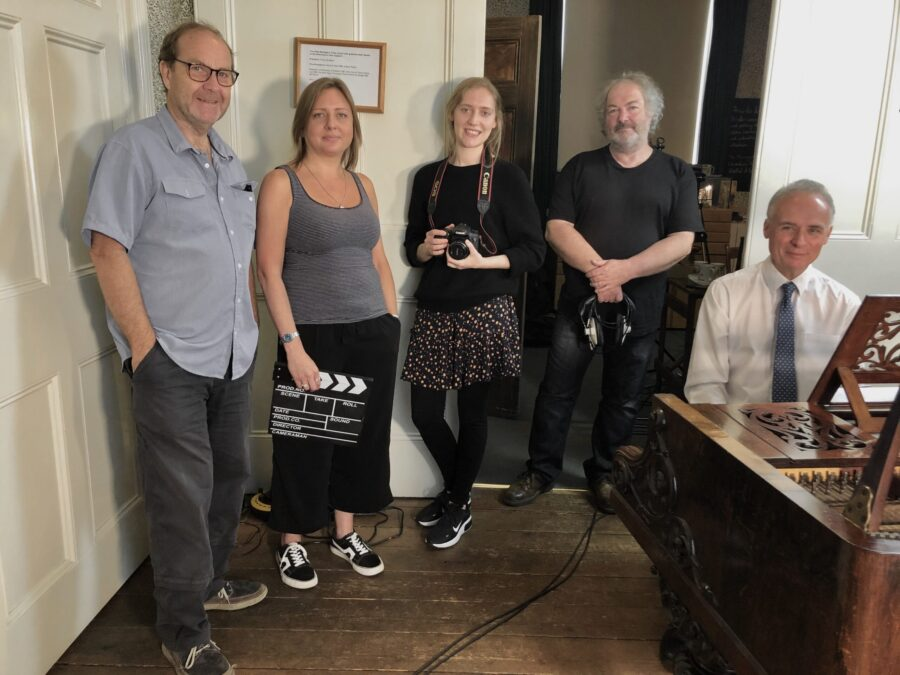 Recording team at the HBM